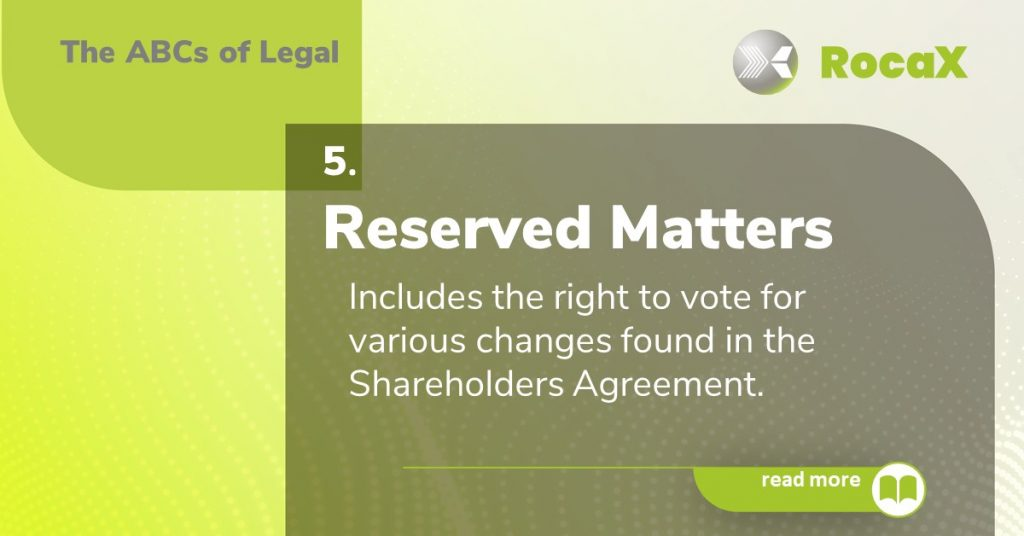 Reserved Matters